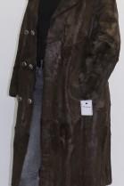 Pelz - Fell   Mantel aus Ziege braun