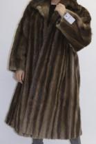 Pelz - Fell   Mantel  Bisam ausgelassen