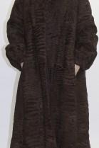 Pelz - Fell Mantel Persianer braun