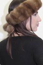 Pelz - Fell  Stirnband Kanadischer Zobel