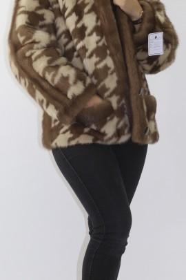 Fur fur jacket mink