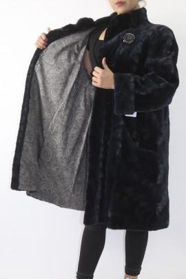 Fur fur jacket mink pieces anthracite