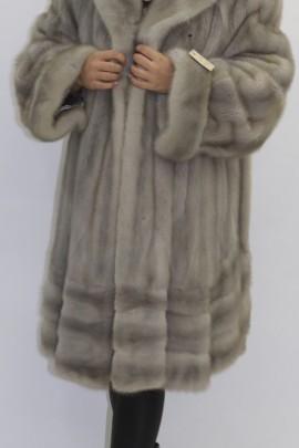 Yellowed fur fur jacket swinger sapphire