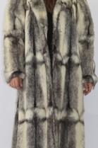 Pelz Fell  Mantel  Kohinoor Nerz Pearl aufgesetzt