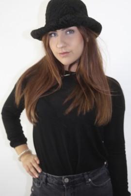 Pelz-- Fell   Hut Mütze Kappe Persianer schwarz