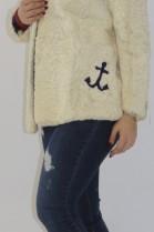 Pelz   Fell  kostüm Jacke und Hose aus Persianer Pearl