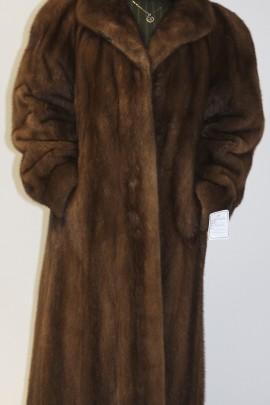 Pelz -Fell  Mantel   Nerz beige