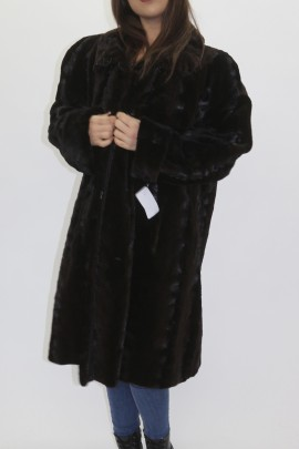 Pelz -Fell  Mantel   Nerz Stücke geschoren